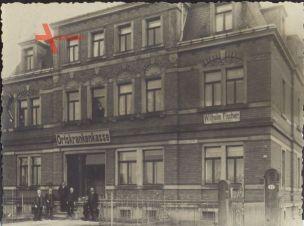 Foto Heidenau Sachsen, Haus der Ortskrankenkasse, Schneidermeister Wilhelm Fischer