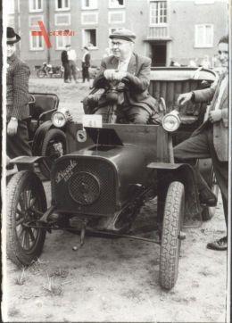 Historisches Foto Automarke Piccolo 1903, Apollo Werke AG Apolda