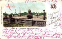 Paris, Weltausstellung 1900, Place de la Concorde, Eintrachts Platz