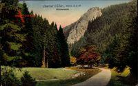 Oberhof im Thüringer Wald, Räuberstein, Herbst