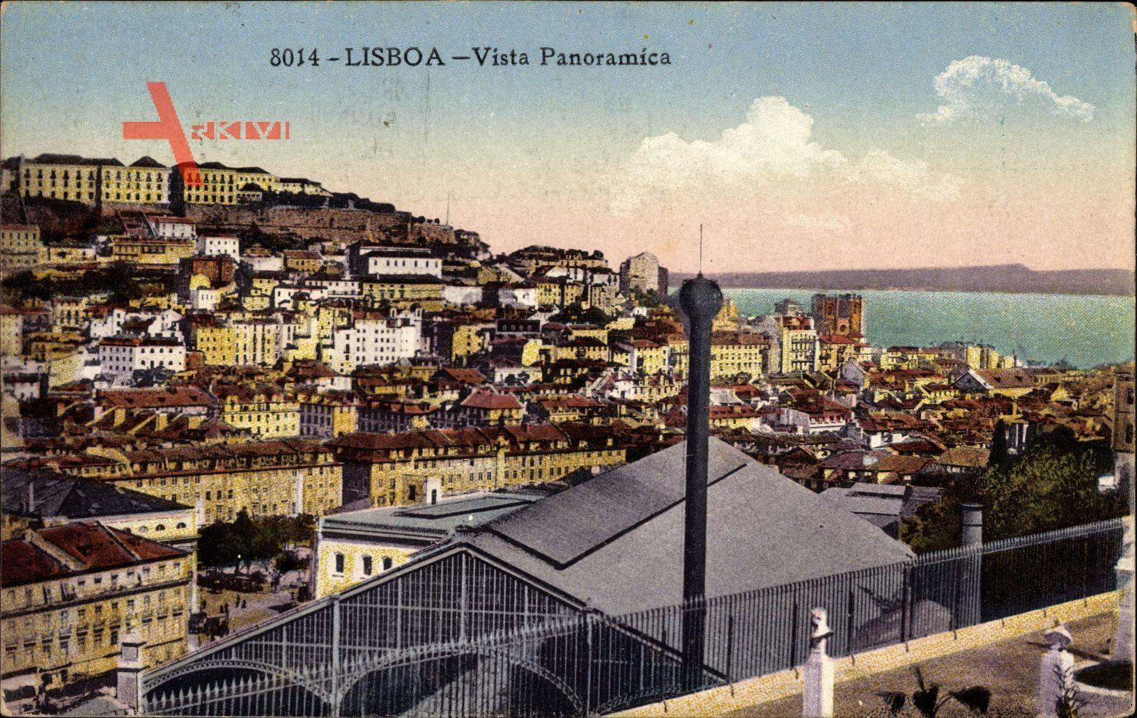 Lisboa Lissabon Portugal, Vista Panoramica, Panorama der Stadt