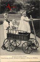Erbgroßherzog Nicolaus, Ingeborg und Altburg von Oldenburg