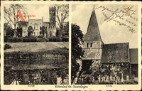 Kittendorf Mecklenburg Vorpommern, Schloss, Kirche, Friedhof, Grabmale
