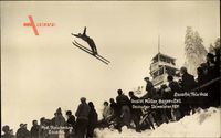 Lauscha im thüringischen Kreis Sonneberg , Gustel Müller,Skimeister 1931