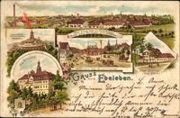 Ebeleben Thüringen, Schloss, Kyffhäuserdenkmal, Jagdschloss zum Possen