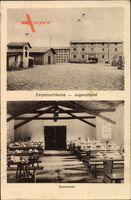 Zerpenschleuse Wandlitz im Kreis Barnim, Jugendheim, Speisesaal