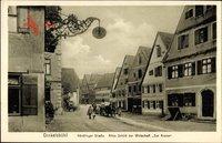Dinkelsbühl im Kreis Ansbach Mittelfranken, Nördlinger Straße, Zur Krone