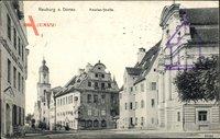 Neuburg an der Donau Oberbayern, Häuser in der Amalienstraße