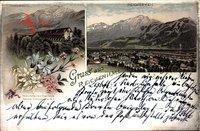 Bad Reichenhall Oberbayern, Gradierhaus, Gesamtansicht