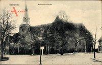 Salzwedel in der Altmark, Die Katharinenkirche von außen gesehen