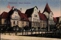 Wilhelmshaven in Niedersachsen, Blick auf die Kaiserl. Intendantur