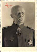 Generalfeldmarschall Erich Friedrich Wilhelm Ludendorff, Portrait
