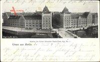 Berlin Mitte, Kaserne des Kaiser Alexander Garde Gren. Regiment No. 1, Straßenpartie
