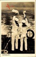 Auf Wiederseh'n, Seeleute winken zum Abschied, Kriegsmarine