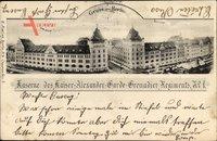 Berlin Mitte, Kaserne des Kaiser Alexander Garde Grenadier Regiments No. 1