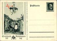 Ganzsachen Bückeberg bei Hameln, Reichserntedankfest, Reichsbauerntag 1937