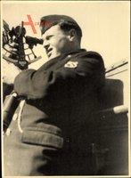 Foto Deutsche Wehrmacht, Soldat in Uniform, Sextant, II. WK