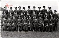 Foto Prenzlau in der Uckermark, Fliegerhorst, Luftwaffe, Uniformierte, Offiziersschwerter, II. WK