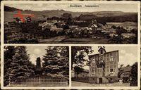 Bouderath Nettersheim Eifel, Gasthaus zur Post, Wwe. Nuß, Kriegerdenkmal