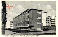 Dessau in Sachsen Anhalt, Gauschule der NSDAP, Gau Magdeburg Anhalt, Bauhaus