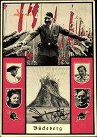Führer und Reichskanzler Adolf Hitler, Bückeberg, Reichserntedankfest 1935