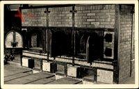 Weimar in Thüringen, KZ Buchenwald, Krematorium, Innenansicht