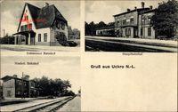 Uckro Luckau Brandenburg, Dahmenser Bahnhof, Niederlausitzer Bahnhof, Hauptbahnhof