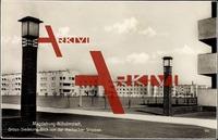 Magdeburg Wilhelmstadt,Gross Siedelung,Waldbecker Straße, Bauhaus
