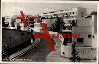 Stuttgart, Blick auf Weissenhof Siedlung, Bauhaus