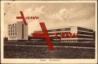 Dessau, Partie am Bauhaus Gebäude, 1928