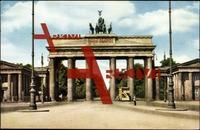 Berlin Mitte, Blick auf das Brandenburger Tor