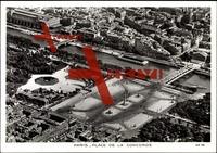 Paris, Fliegeraufnahme Place de la Concorde, Seine