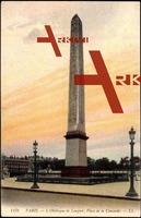 Paris, L'Obelisque de Louqsor, Place de la Concorde
