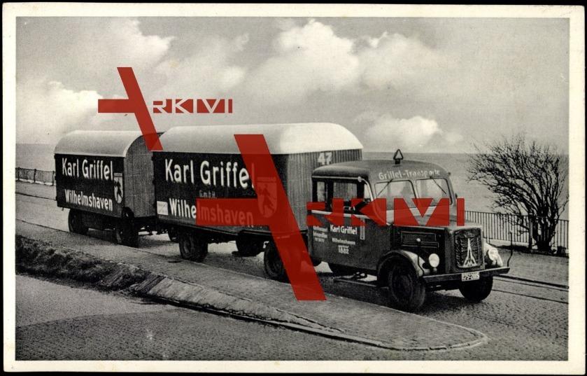 Wilhelmshaven, LKW, Karl Griffel GmbH, Rheinstr. 67