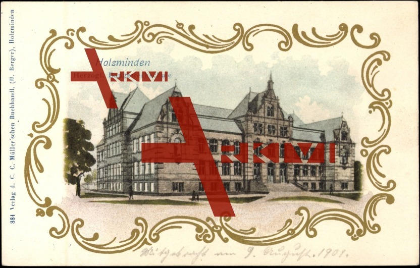 Passepartout Holzminden, Herzogliche Baugewerkschule