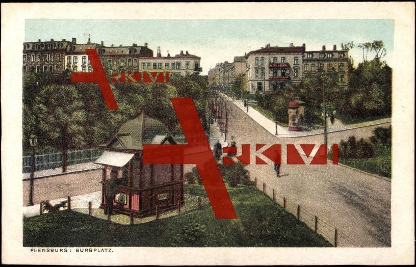 Flensburg burgplatz pavillion gehwege kreuzung xl Bauhaus flensburg markisen