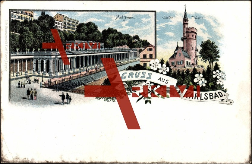 Karlsbad, Mühlbrunn und Stafanie Warte