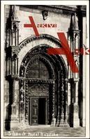 Sihenik Kroatien, Großes Portal zur Basilika