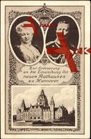 Hannover, Einweihung Rathaus, Kaiser Wilhelm II.