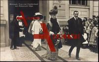 Herzogin Tyra von Cumberland und Prinzessin Olga