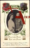 Herzogspaar Carl Eduard von Sachsen Coburg