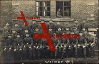 Weimar, Erinnerungsfoto von Soldaten, Uniform