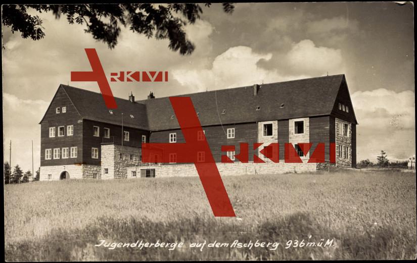 Klingenthal, Jugendherberge auf dem Aschberg