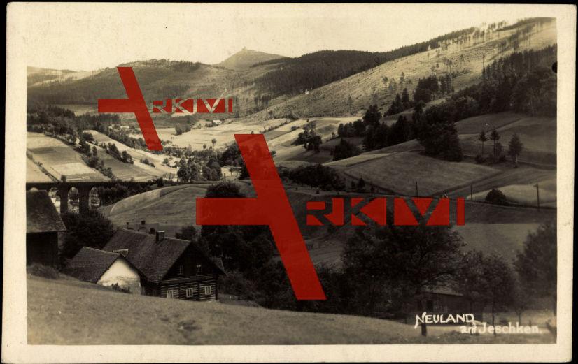 Neuland am Jeschken Liberecky Kraj, Talblick