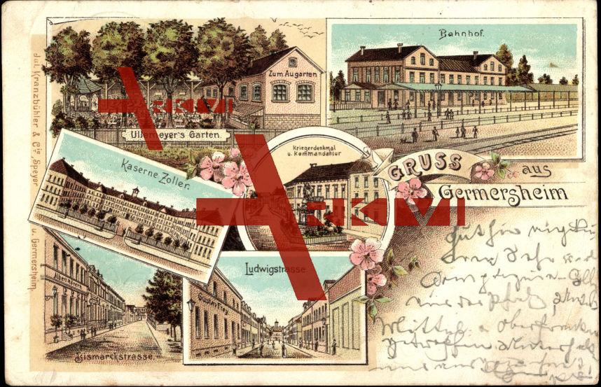 Germersheim, Ullemeyers Garten, Kaserne Zoller