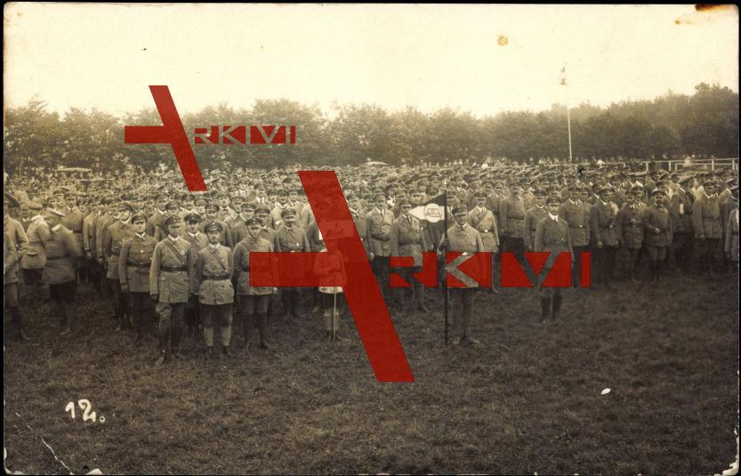 Neumünster, Stahlhelm Sonntag 1926, Soldaten