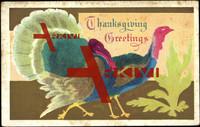 Glückwunsch Thanksgiving, USA