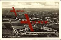 Berlin Neukölln Britz,Fliegeraufnahme der Siedlung