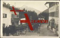 Neuhaus Rotwandhaus, m. Bl. A. d. Wendelstein