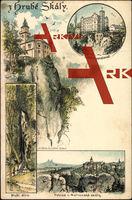 Hrube Skaly Liberecky Kraj, Stekluv Pension Burg